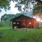 Glamping à la ferme avec Un Lit au Pré