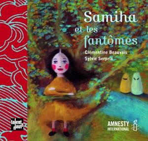 Couverture du livre Samiha et les fantômes, chez Talents Hauts