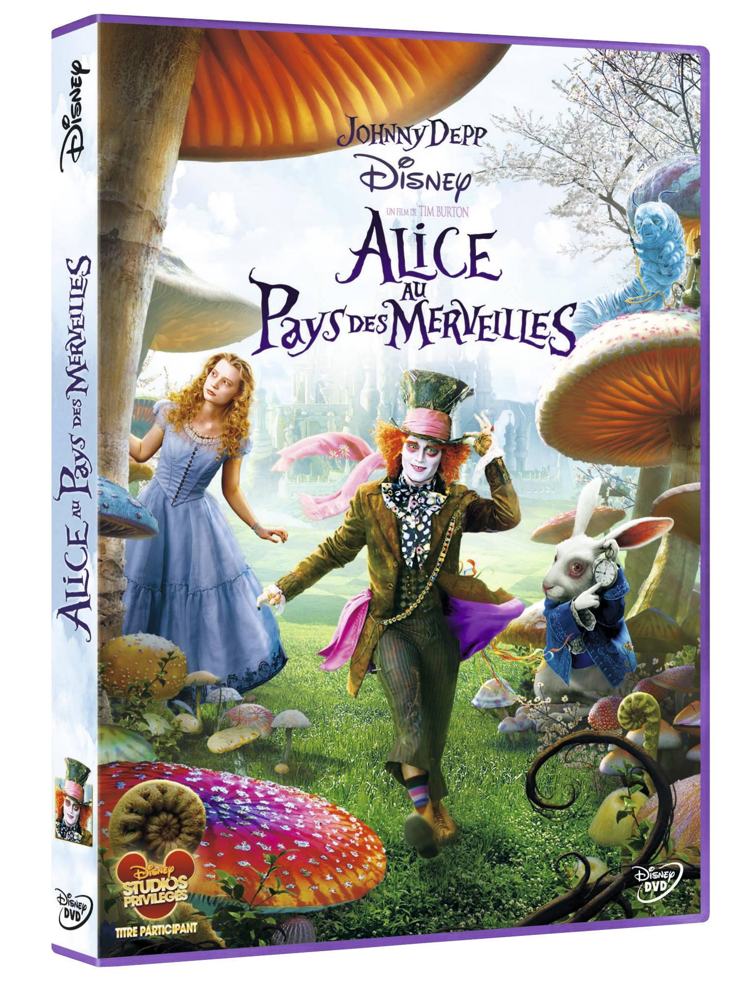 Alice au Pays des Merveilles [Combo Blu-ray 3D + …