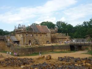 Construction du château de Guédelon