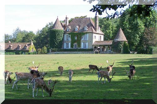 Parc animalier de Boutissaint à Treigny dans l'Yonne