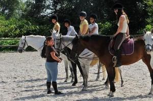 cours d'équitation enfant