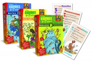 jeux Enigmes de la nature de Bioviva