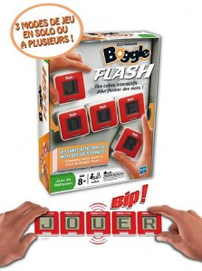 Boggle Flash, version électronique du jeu de mots