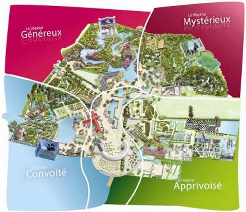 Terra Botanica plan