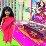 Kinra Girls : cinq poupées venues des quatre coins du monde