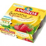 Compote banane Andros