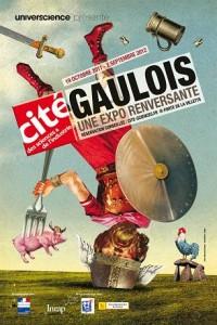 Affiche exposition Gaulois Cité des Sciences