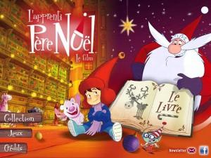 L'apprenti Père Noël sur iPad