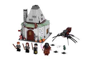 Lego Harry Potter la cabane d'Hagrid