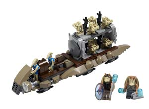 The battle of Naboo de Lego