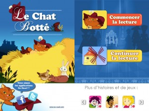 Le Chat Potté sur iPad