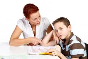 devoirs maison maman enfant