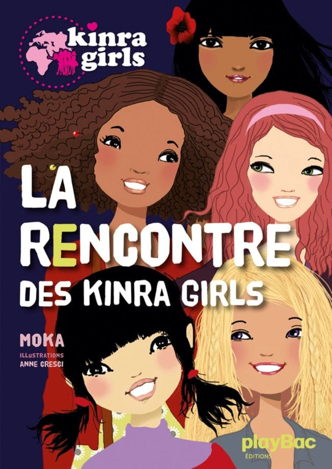Tome1 collection Kinra Girls chez Play Bac