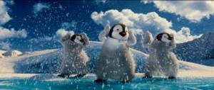 Happy Feet 2 danse des manchots