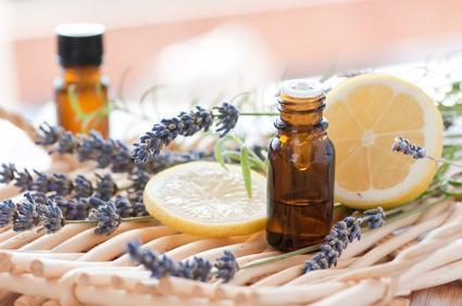 flacons Huiles essentielles  lavande citron