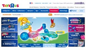 Home Page ToysRus.fr
