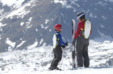 Protection dorsale ski