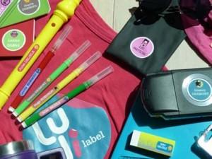 Etiquettes personnalisée autocollantes pour fournitures Ludilabel