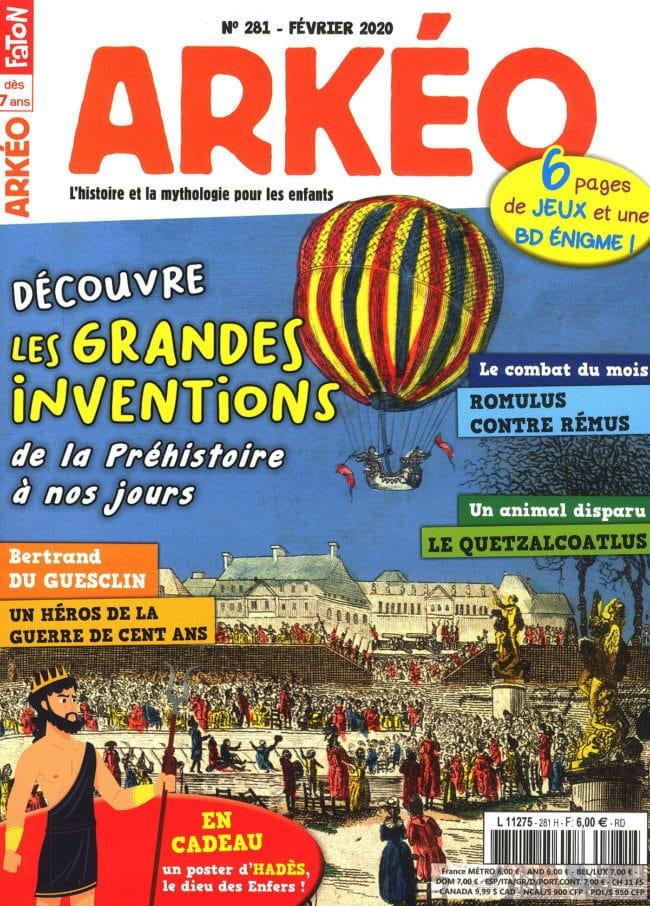 Arkeo Junior magazine sur l'Histoire pour les enfants