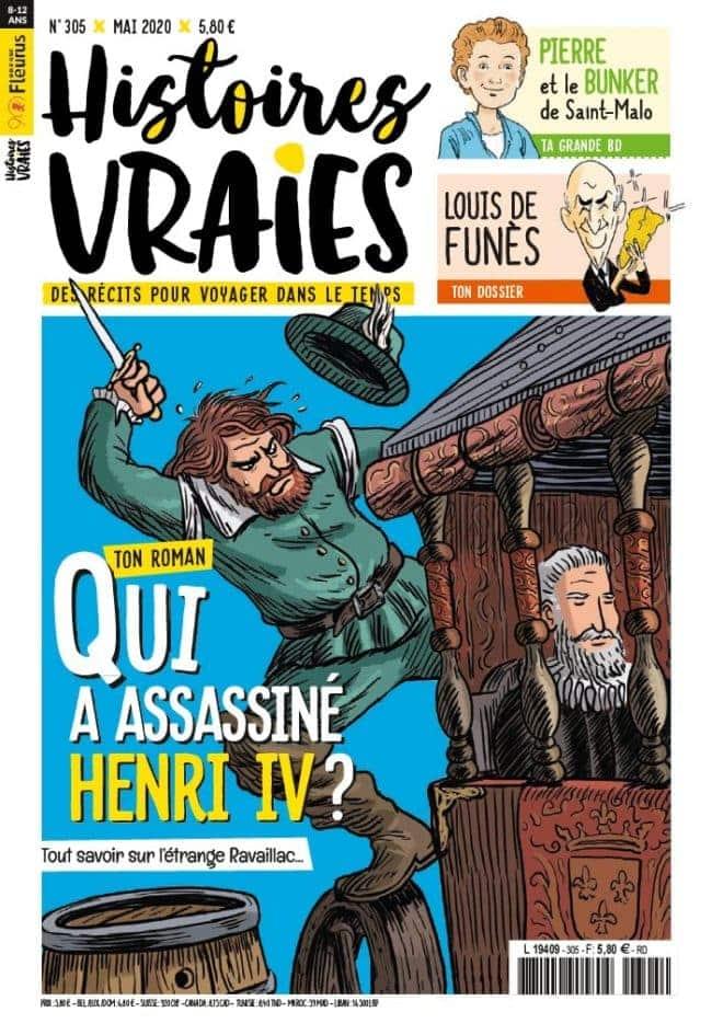 Histoires Vraies magazine jeunesse sur l'histoire