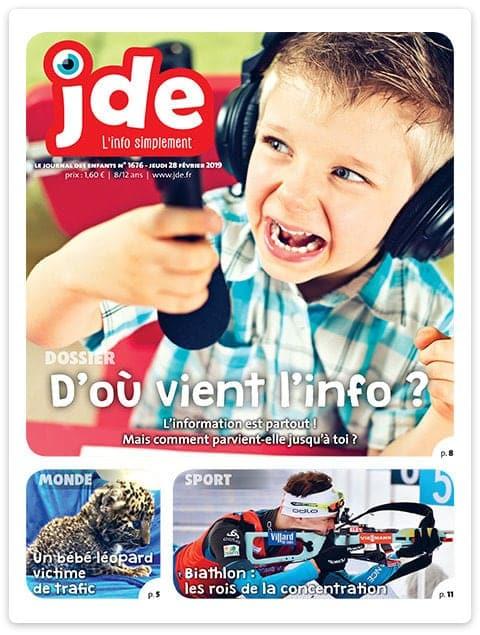 JDE Journal des Enfants