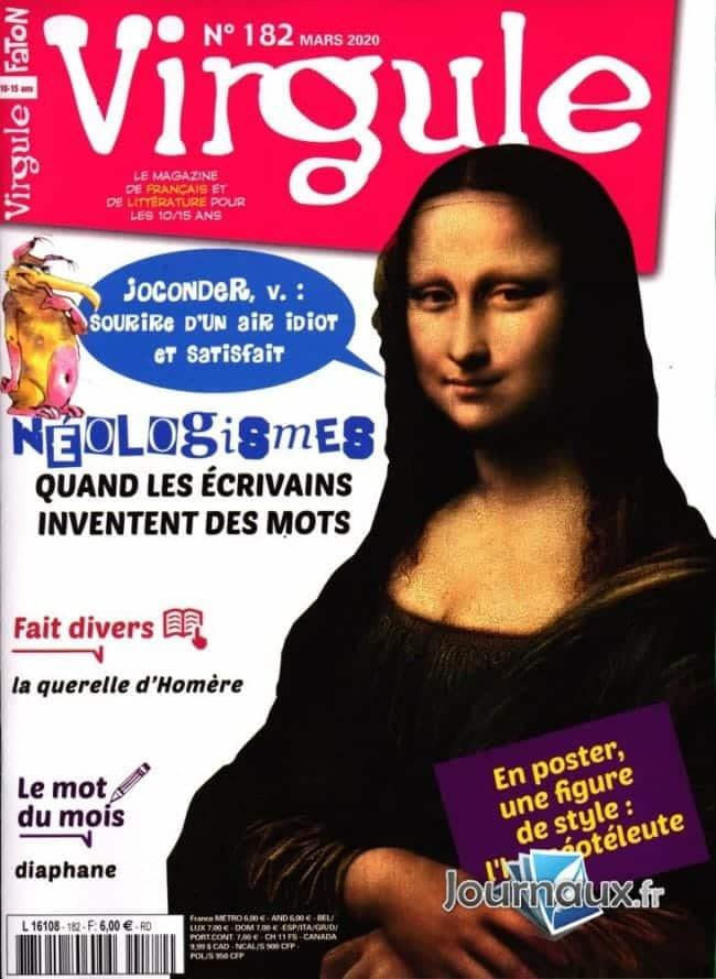 Virgule magazine de littérature ados