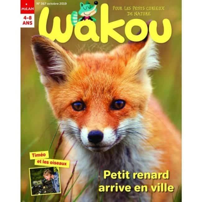 Wakou magazine enfant Milan Jeunesse