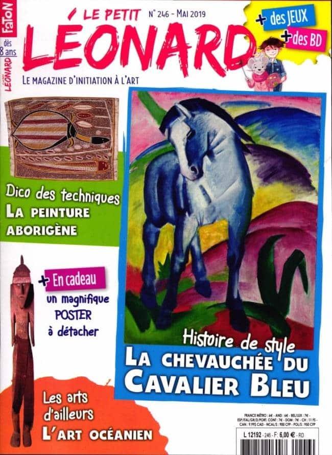 Le petit Léonard magazine enfant autour de l'art