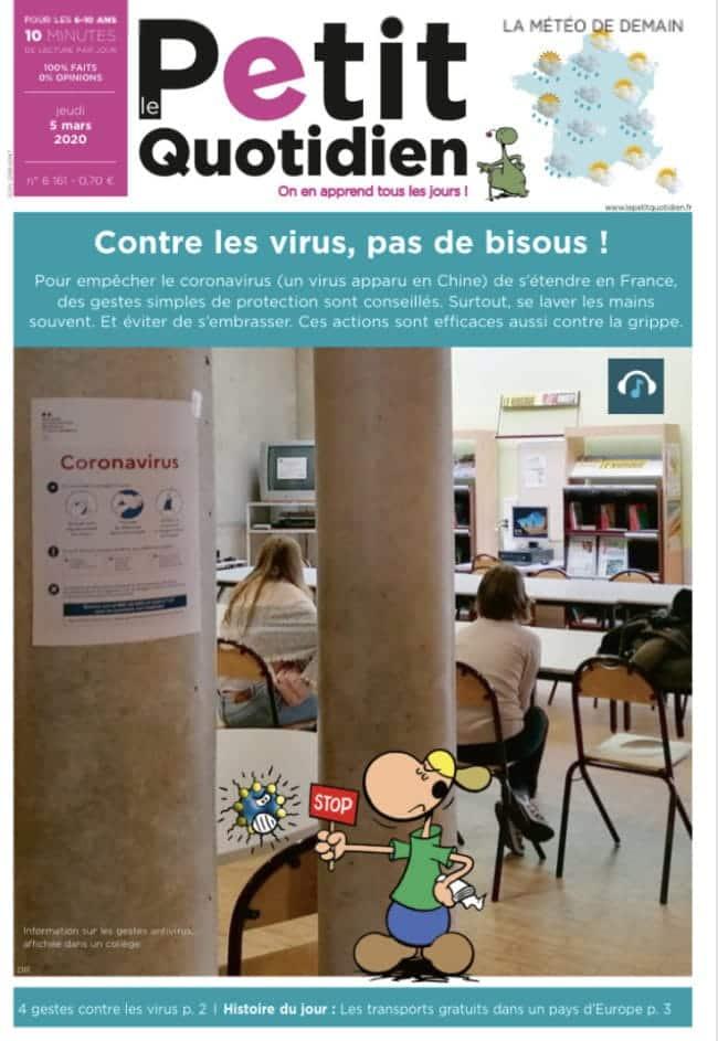 Le Petit Quotidien journal d'actu pour les enfants