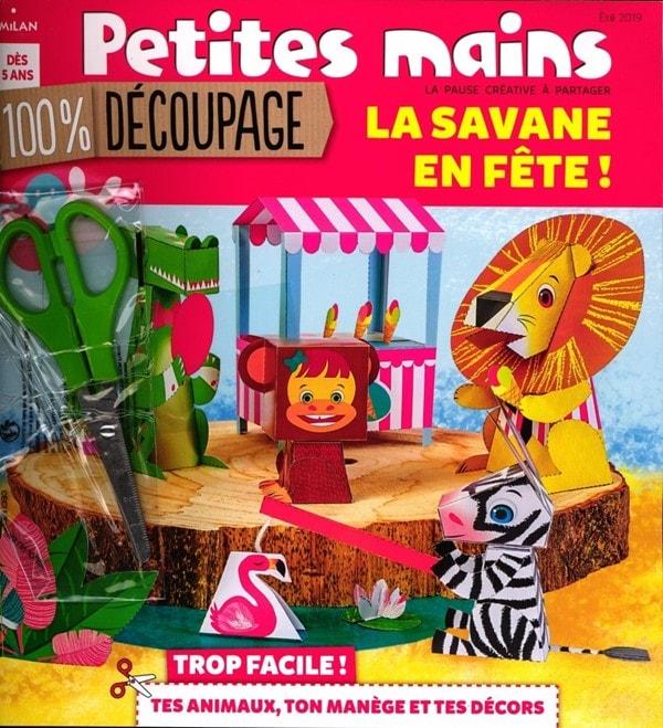 Petites Mains magazine 100 % découpage