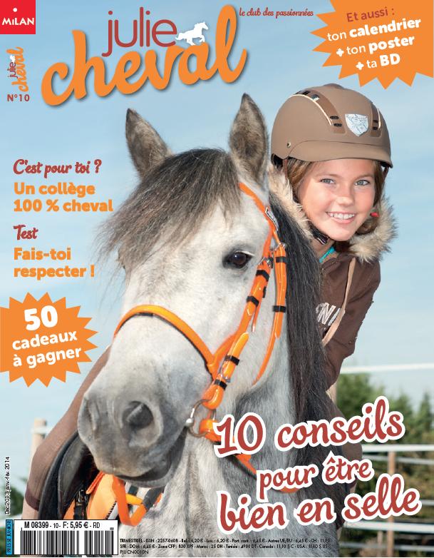 magazine jeunesse Julie Cheval