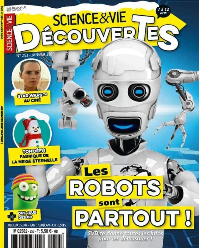 Sciences et Vie Découverte magazine enfant sur les sciences