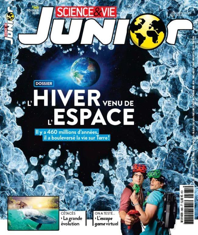 Sciences et Vie Junior magazine jeunesse autour des sciences