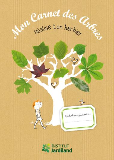 cahier herbier enfant