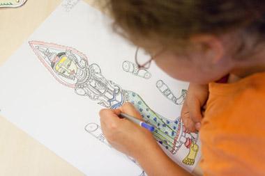 atelier créatif anniversaire enfant
