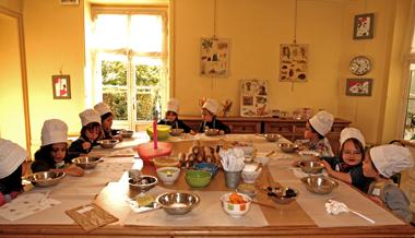 atelier cuisine pour anniversaire enfant