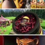 Madagascar 3, Bons Baisers d'Europe, les héros de Madagascar au cirque