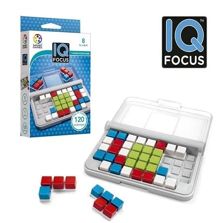 Jeux de voyage - Jeu IQ Focus de Smart Games