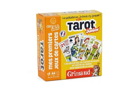 Jeux de voyage - Tarot Junior, chez Grimaud