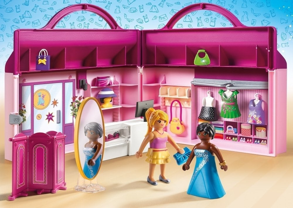 Jeux de voyage - Le magasin transportable Playmobil