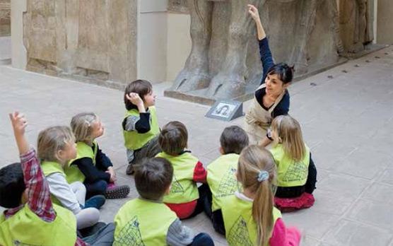 Atelier enfants au musée du Louvre