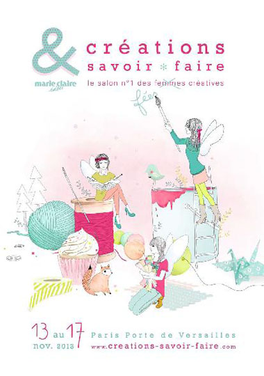 affiche salon Creation Et Savoir Faire