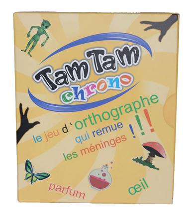 Jeu de cartes éducatif Tam Tam Chrono