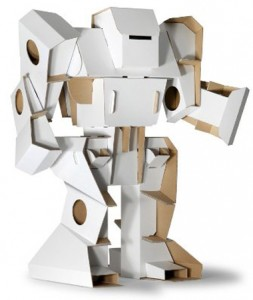 robot geant en carton calabot