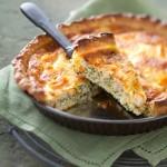 Recette au fromage : Quiche de haddock fumé au Bello Gratino
