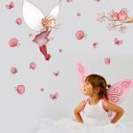 Chambre d'enfant : Stickers et papiers peints ludiques