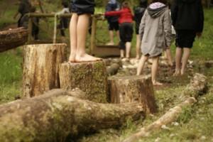Parcours pieds nus parc Wizztiti