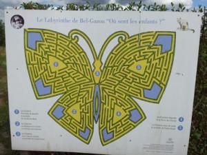 Labyrinthe Bel Gazou Jardins de Colette à Varetz