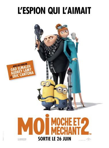 Affiche MoiMocheMechant2